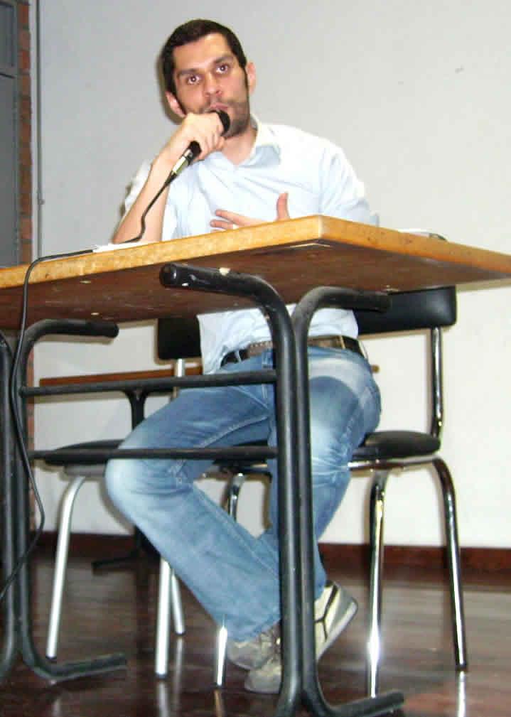 Camilo Sixto Baquero, periodista de eltiempo.com