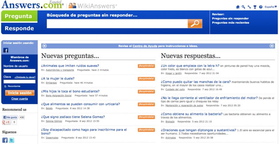Answers.com Español